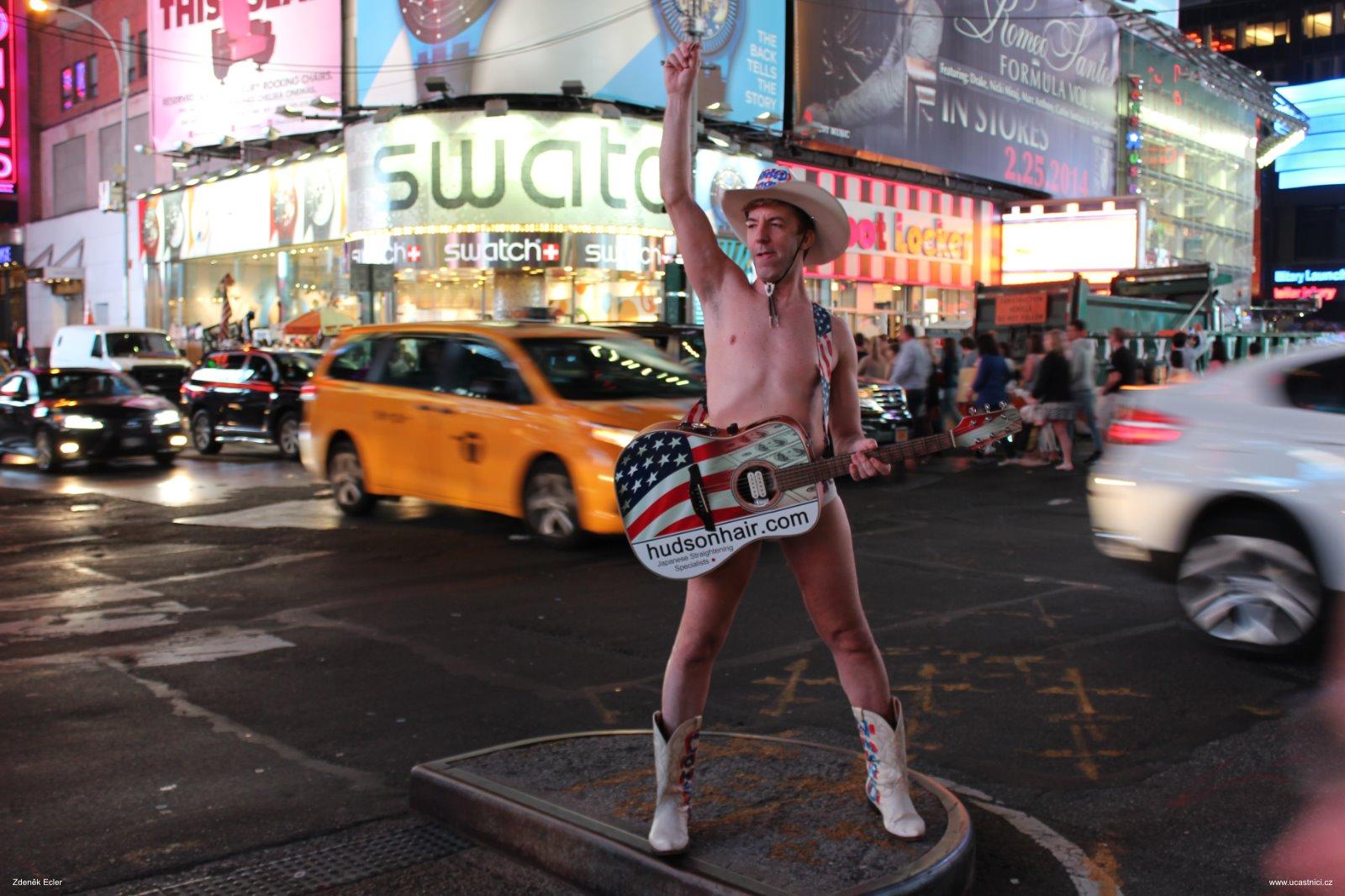 Noční život na Times Square, autor: Zdeněk Ecler