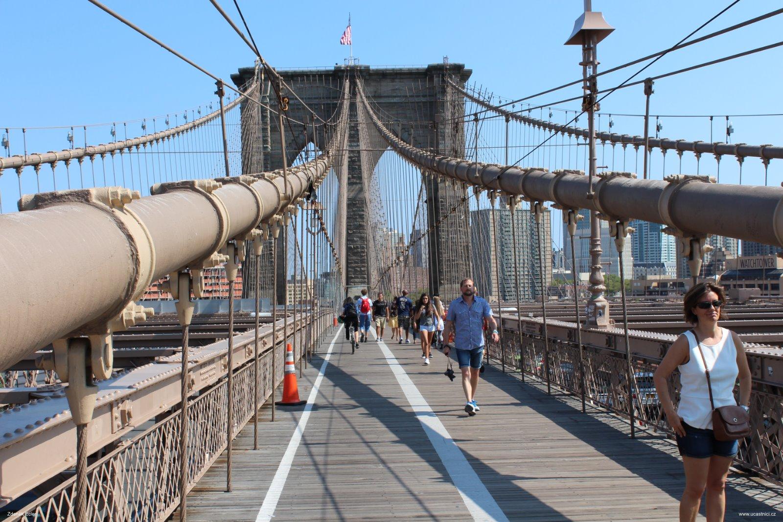 Brooklyn Bridge, autor: Zdeněk Ecler