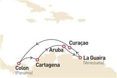 Antily a jižní Karibik (z Curacao) na lodi Monarch****