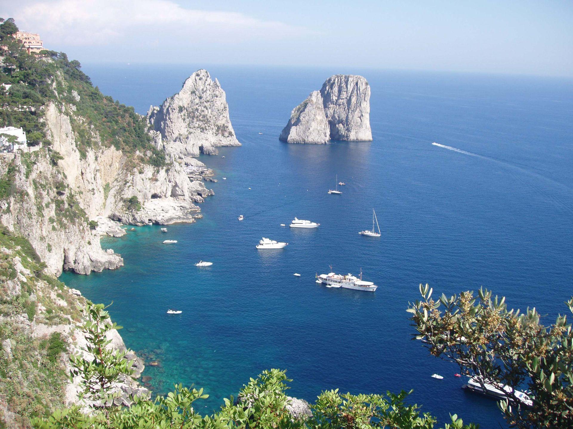 Itálie, Neapolský záliv II - ubytování v hotelu