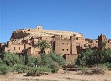 Velký okruh Marokem - letecky