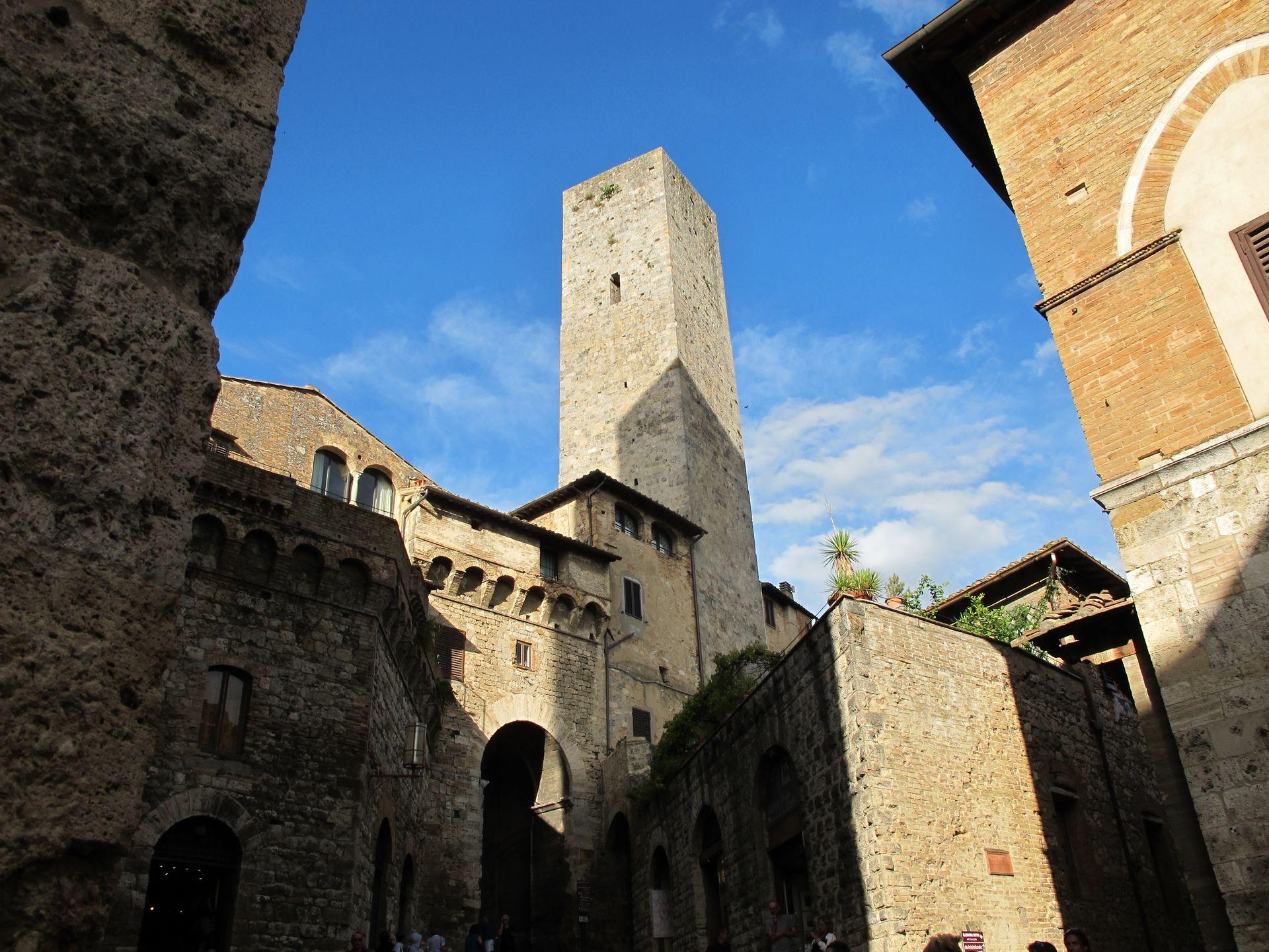 Florencie, Siena a San Gimignano
