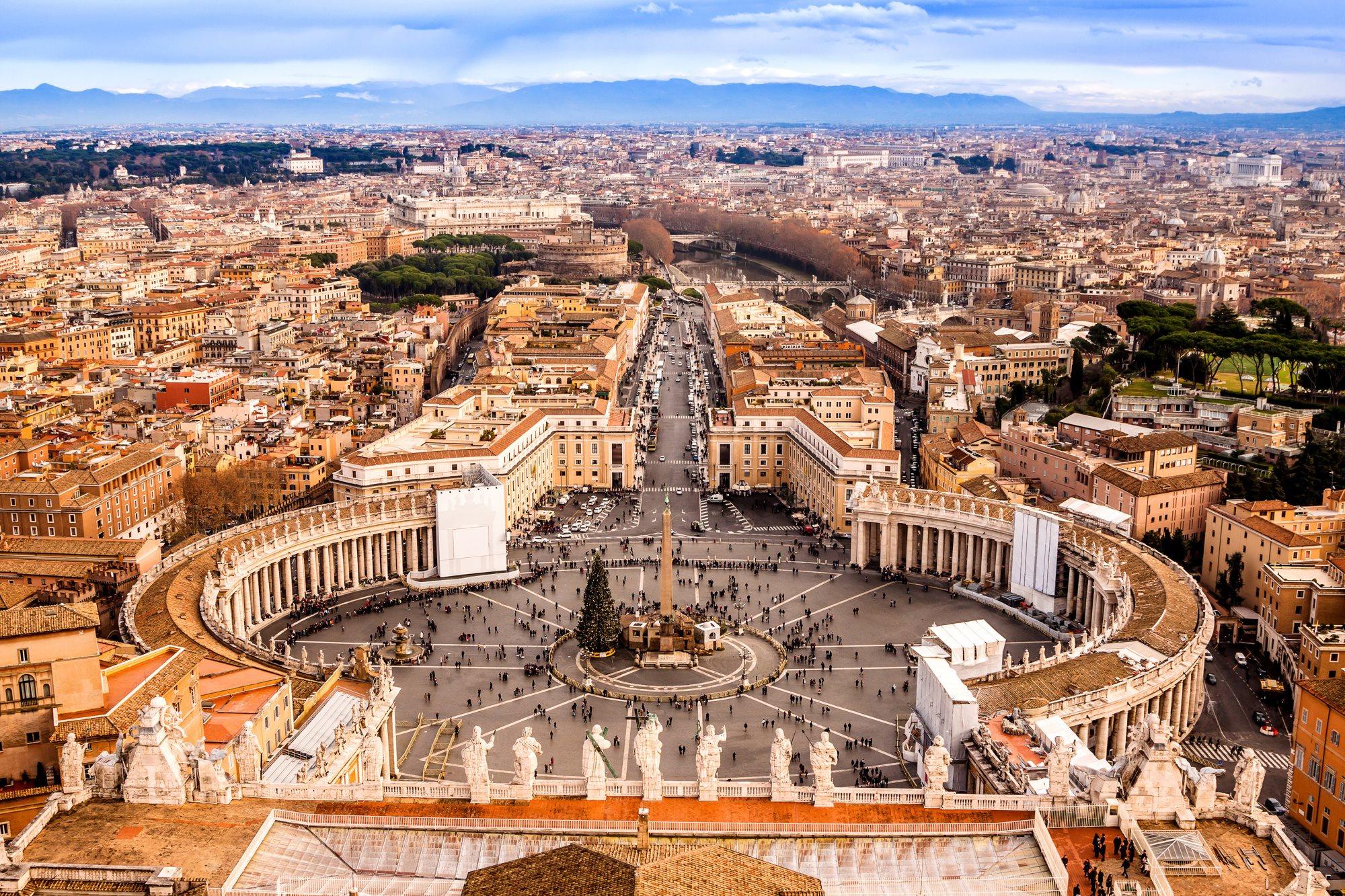 Náměstí ve Vatikáně - Řím