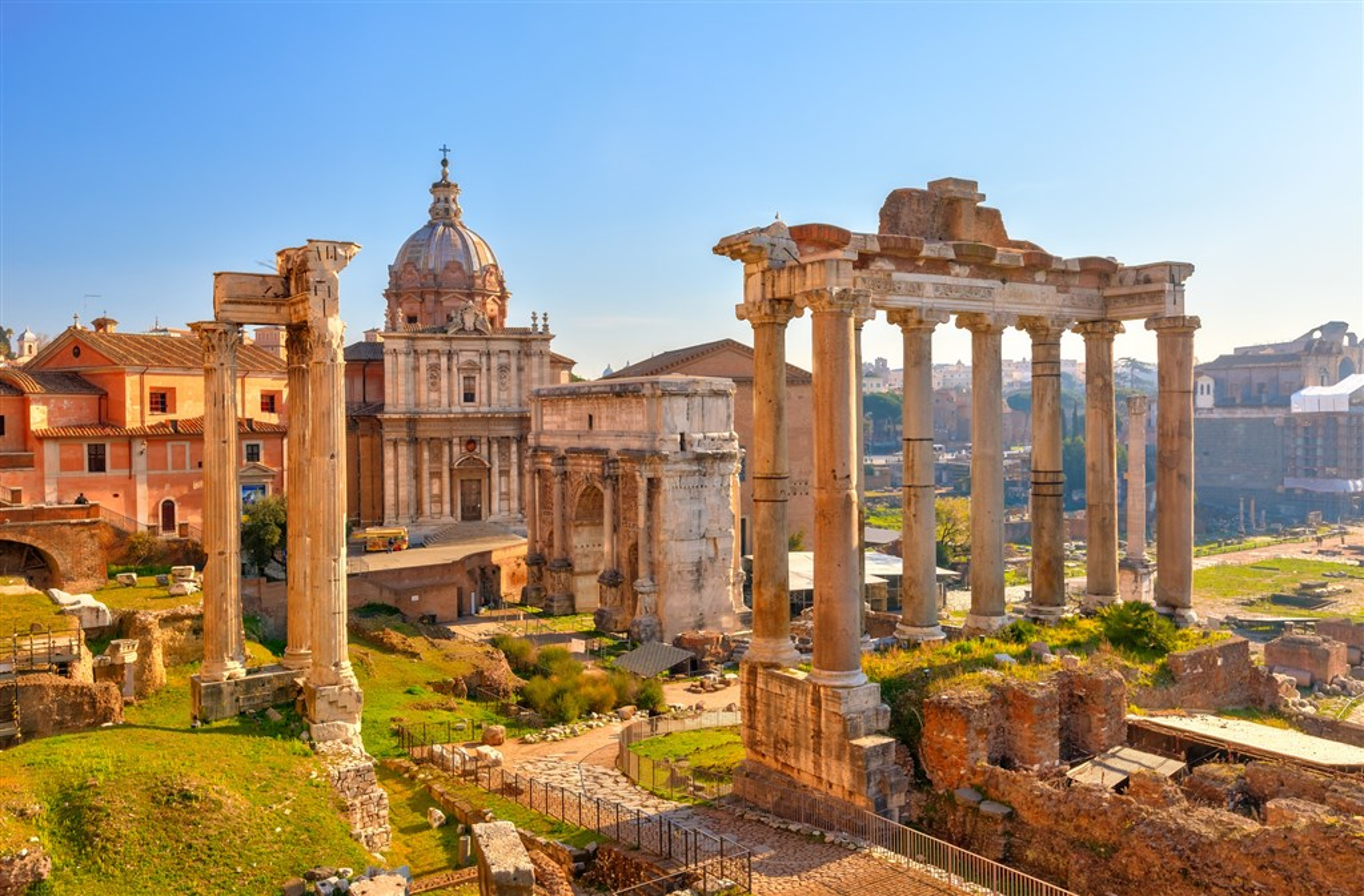 Ruiny v Římě