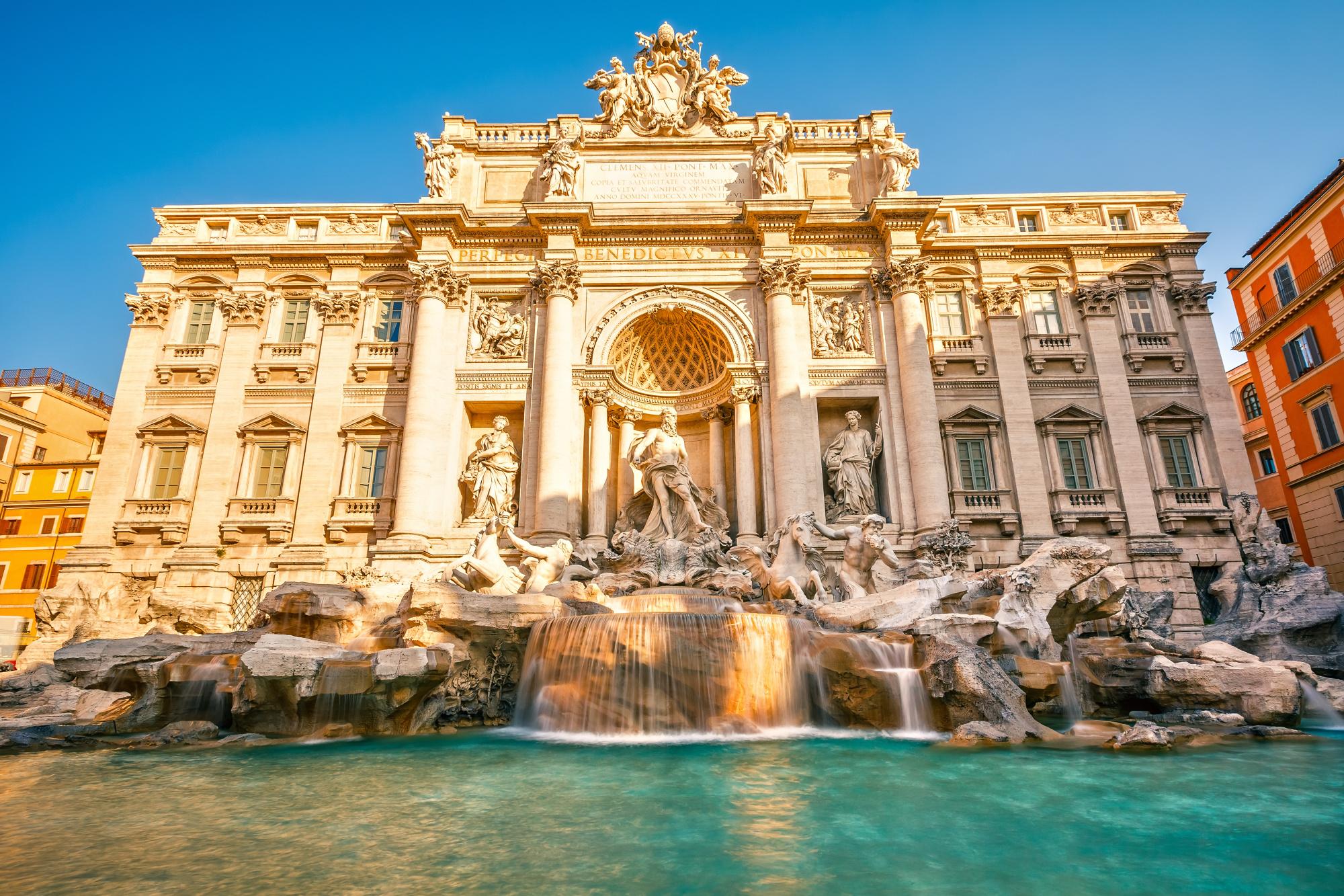 Fontana di Trevi - Řím - Itálie