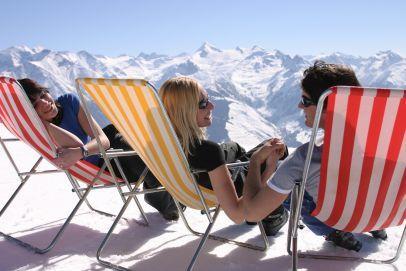 jarní lyžovačka
