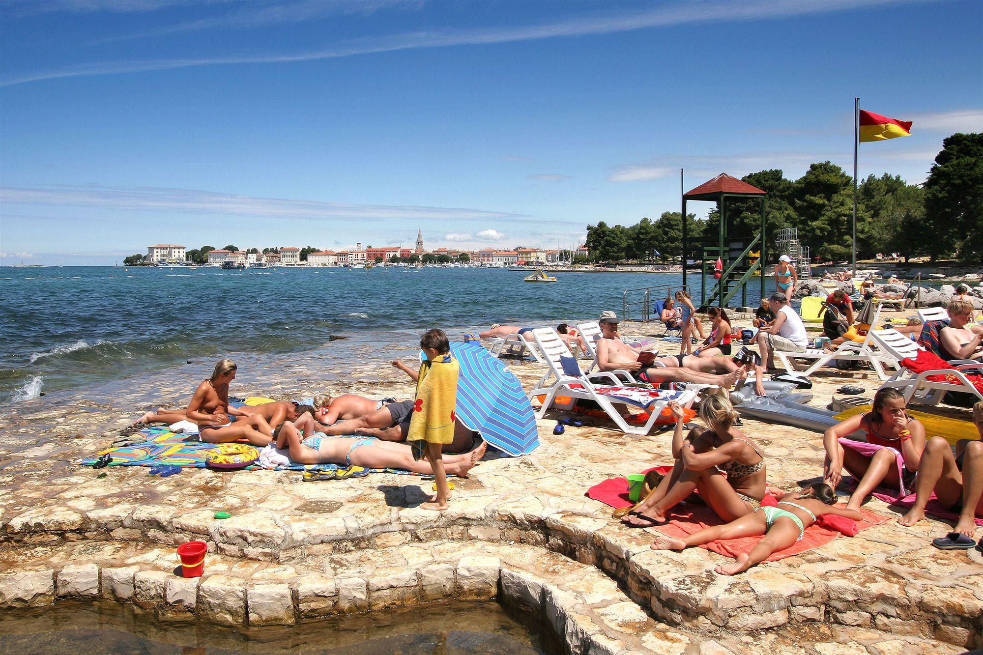 Пореч хорватия пляжи фото