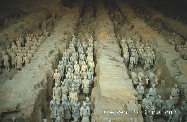 Xi\'an  Hliněná armáda