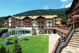 Golf s All inclusive - Folgaria - hotel Golf ****, bazén a wellness centrum / č.3031