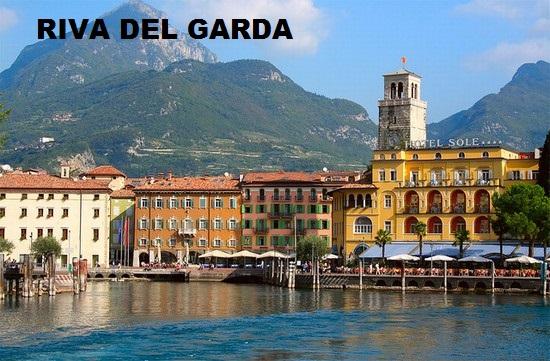 Riva del Garda s popisem