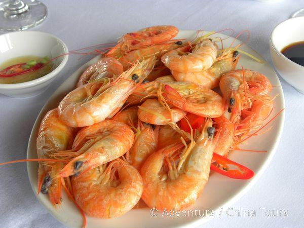 Krevety s rybí omáčkou, Halong