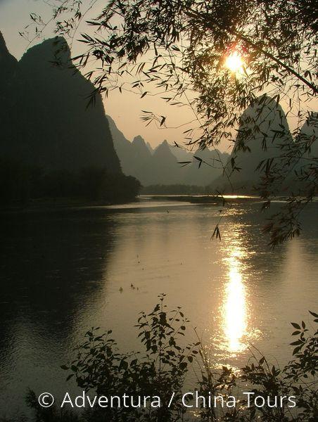 Yangshuo - řeka Li