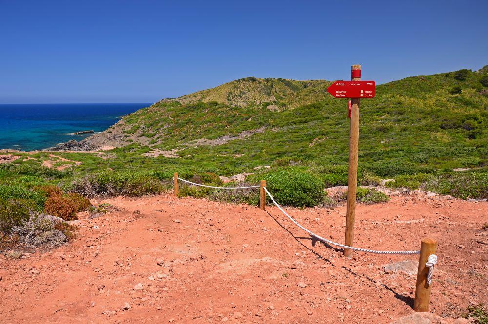 Baleárské ostrovy Menorca