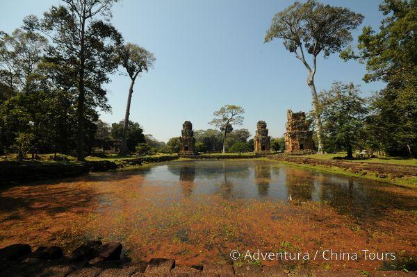 Vodní nádrž, chrám Angkor Thom