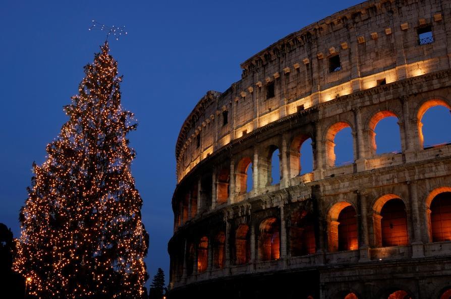 Řím - Vánoční Řím - město tisícileté historie ***