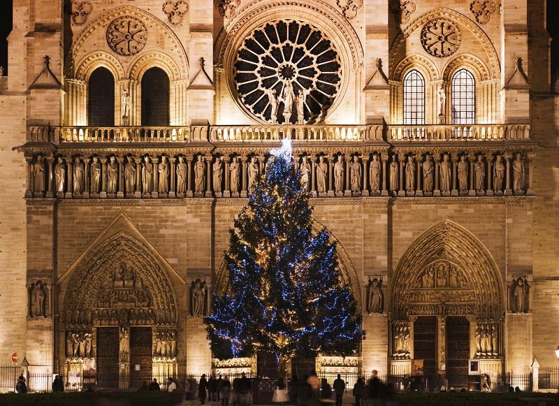Paříž - Vánoce v Paříží a zámek Versailles - letecky