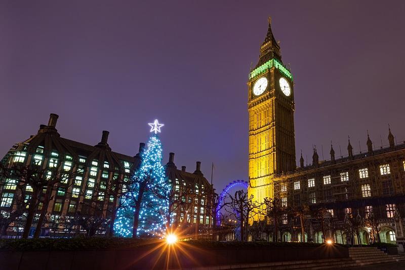 Londýn - Vánoční Londýn a nákupy na Oxford street - letecky