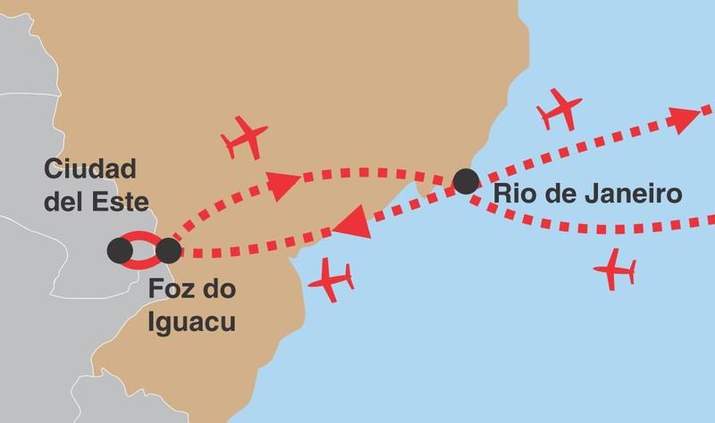 Brazilsky expres 02 trasa