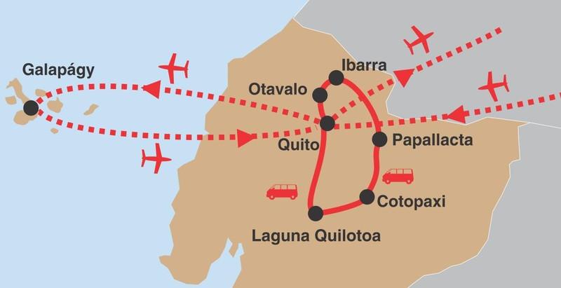 Ekvador galapagy 02 trasa