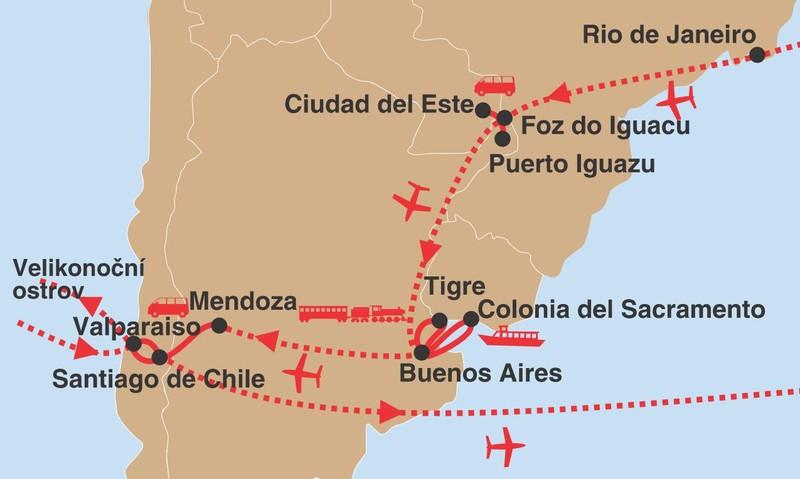 Rio pacifik velikonoce 02 trasa