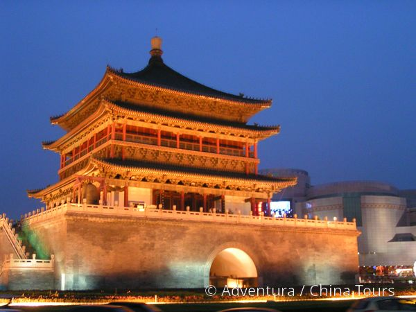 Xi\'an - Zvonová věž