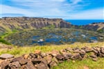 Rano Kau volcano, Easter island, Chile, South America_shutterstock_2402033051