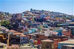 Colorful old houses in valparaiso city, Chile_shutterstock_606814409