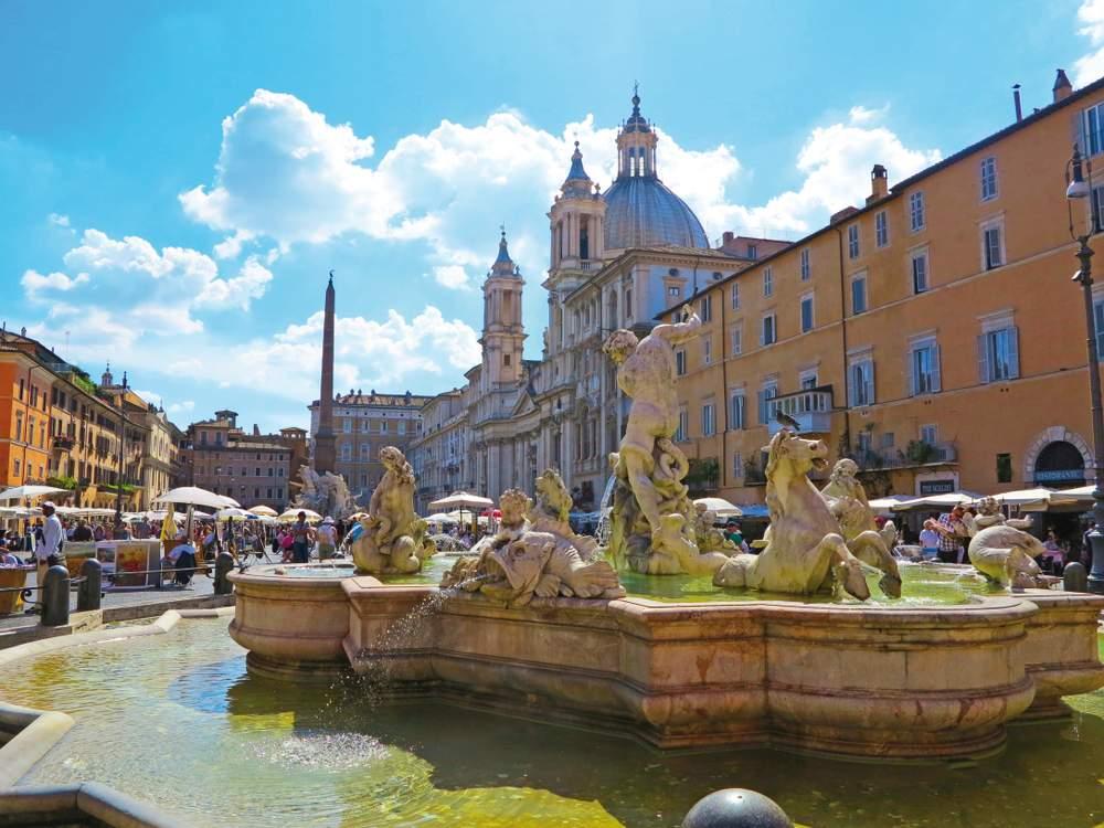 Italie Rim kasna upravena 2018