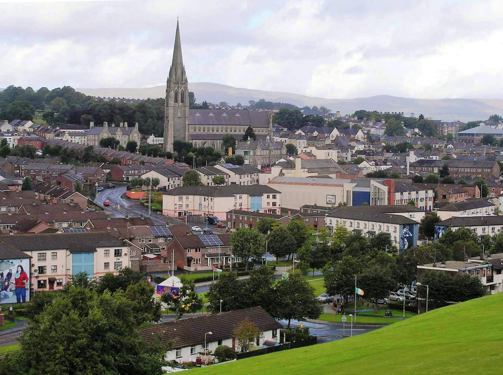 Severní Irsko   Derry 1