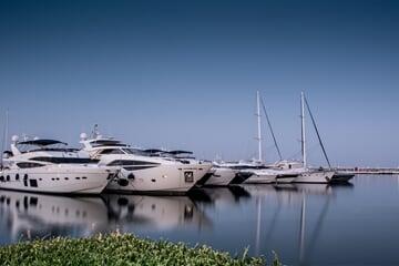 puerto banus, long exposition, yachts