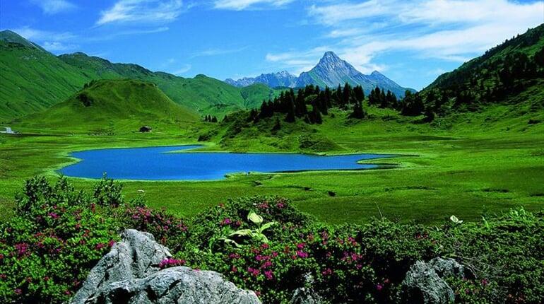 Foto - Steeg - Lechtalské Alpy pro seniory ***