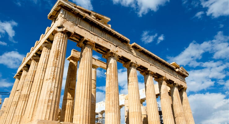 greece, palace, parthenon