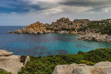 coast, sea, waters, sardinie