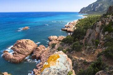 sea, beach, sardinia, sardinie