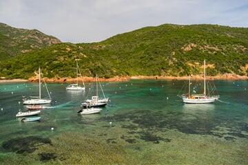 coast, waters, sea, sardinie, jachty, jachting