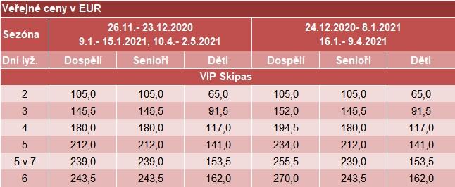 2021 Silvretta   Ischgl Samnaun VIP skipas