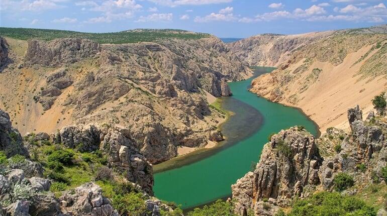 Pobytově-poznávací zájezd Chorvatsko - kaňon řeky Zrmanja