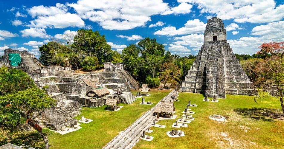 Foto - To nejlepší z Guatemaly + MAYSKÁ KULTURA + KOUPÁNÍ NA OSTROVĚ V BELIZE (letecky