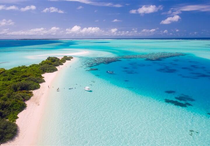 Maledivy, dokonalý tropický ráj