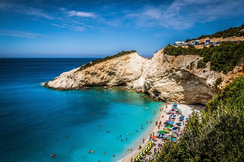 Porto Katsiki, nejkrásnější pláž ostrova Lefkada