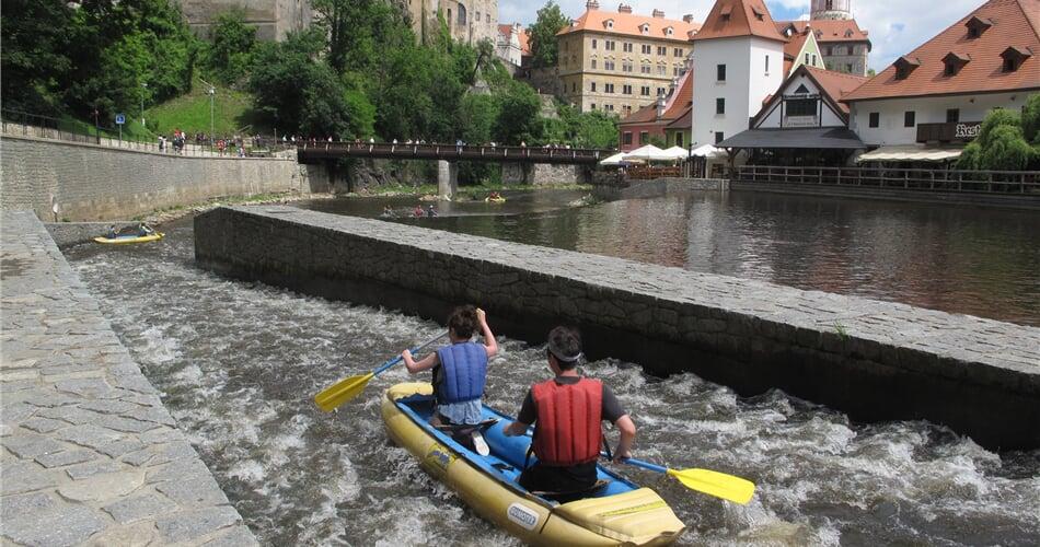 Foto - Vltava - 3denní voda z Vyššího Brodu do Č. Krumlova