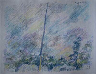 16/07/20 - coloured pencil