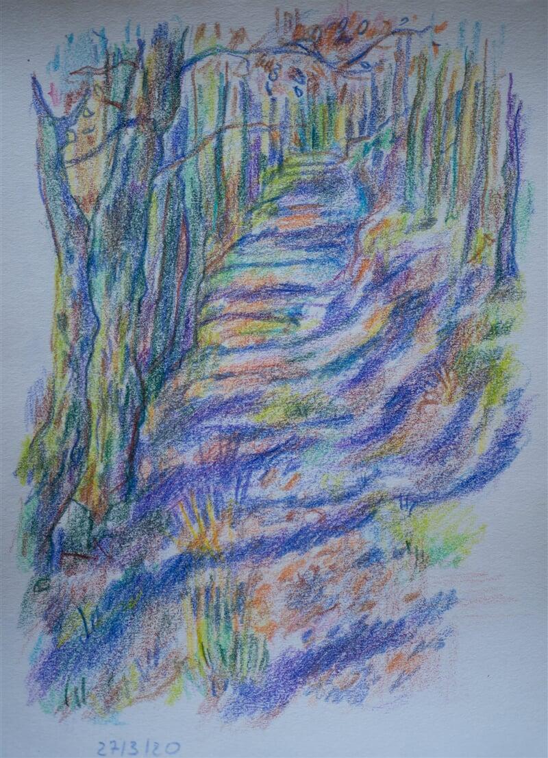 27/03/20 - coloured pencil