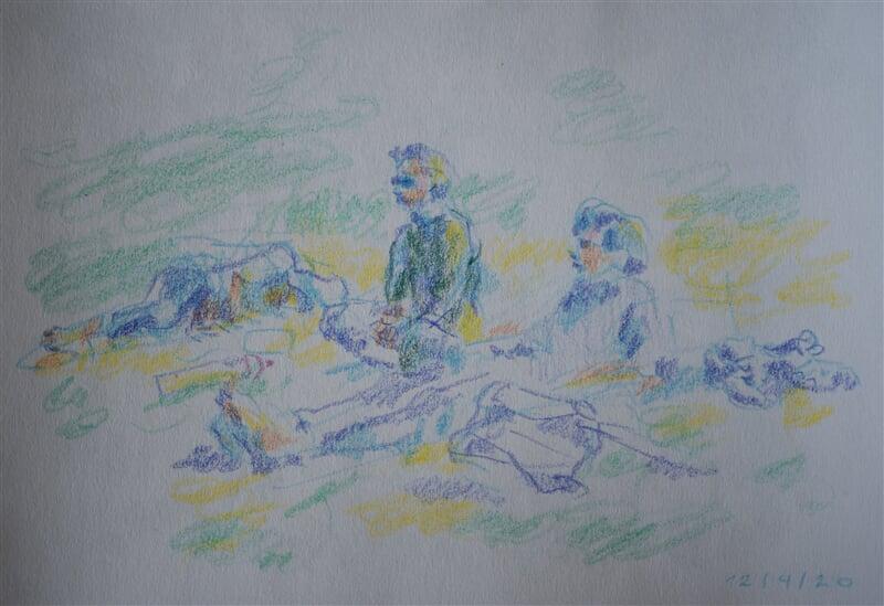 12/04/20 - coloured pencil