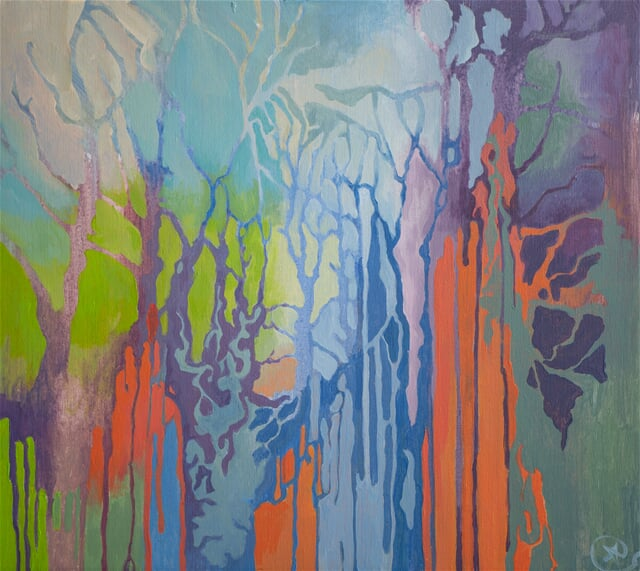 Abstract forest III