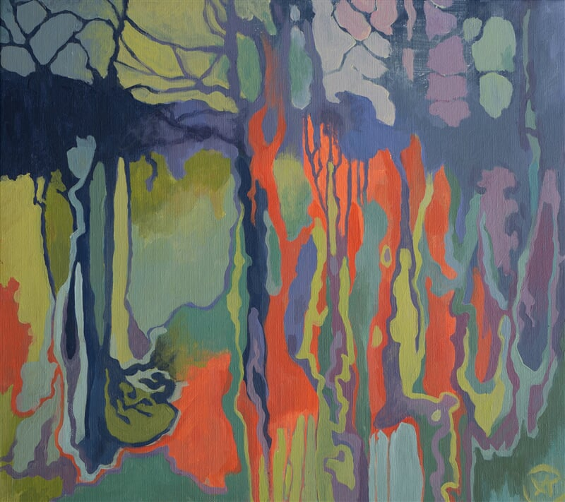 Abstract forest II
