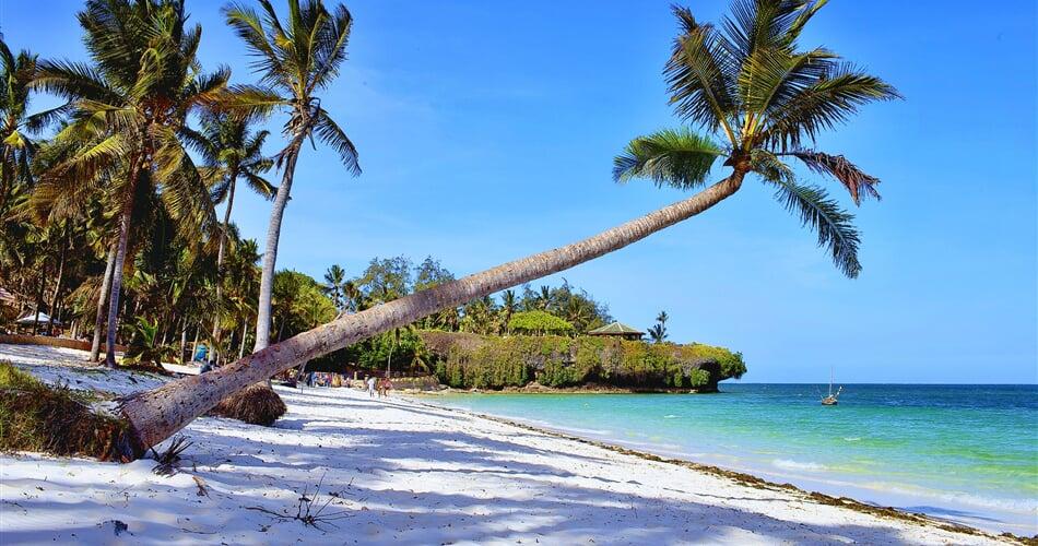 pláž Diani Beach Keňa