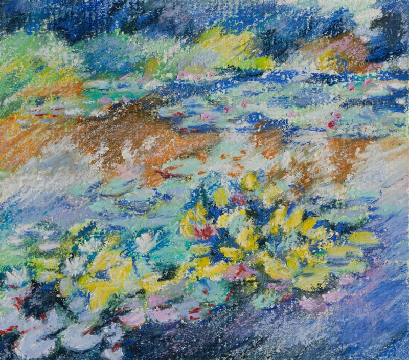 Water lilies 12/02/21 - soft pastel