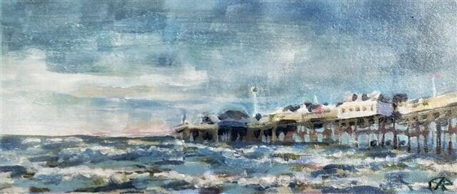 England seaside pier