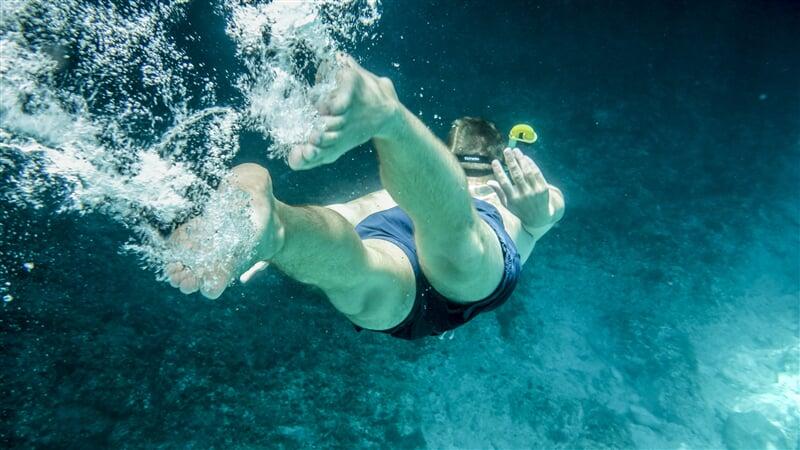 Potápění při pobřeží ostrovů